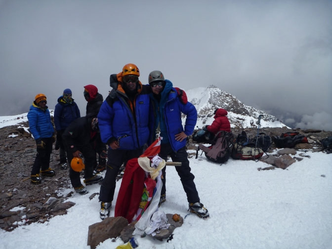 Summit Day on Aconcagua