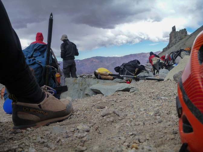 Aconcagua summit attempt #1