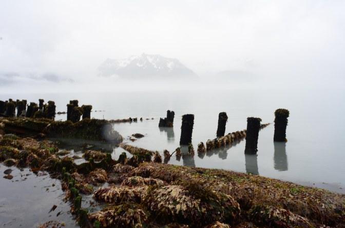 Spectacular break away in Seward Alaska