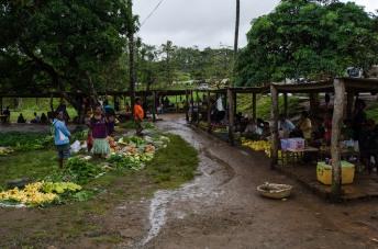 Sager village market place